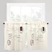 Park B. Smith Vintage House Café Curtain (Postale) - 150cm x 90cm