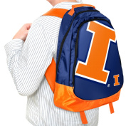 Forever Collectibles NCAA Illinois Fighting Illini 48cm Structured Backpack