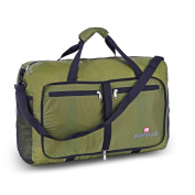 Suvelle Large 50cm Water-resistant Nylon Foldable Duffel Bag