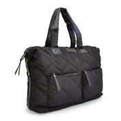 Adrienne Vittadini Medium Quilted Nylon Duffle