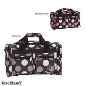 Rockland New Multi Dot Bel-Air 48cm Carry On Duffel Bag