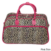 World Traveller Leopard 50cm Carry-on Shoulder Tote Duffel Bag