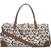 Women's San Diego Hat Company Canvas Oversized Duffel Bag BSB1338 Ikat
