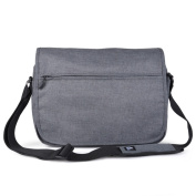 Vance Co. Men's 38cm Laptop Messenger Bag