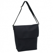 Goodhope Black Lightweight Cross Body Casual Tote Bag