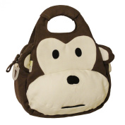 EcoGear EcoZoo Cotton Monkey Lunch Tote