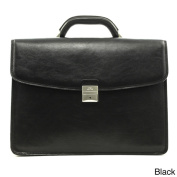 Tony Perotti Tuscany 41cm Laptop Triple Compartment Leather Briefcase