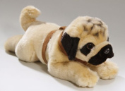 Soft Toy Bulldogge - Pug lying 35cm. [Toy]