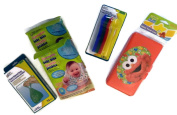 Nappy Bag Essentials Bundle Disposable Bibs Refillable Wipes Case Spoons More