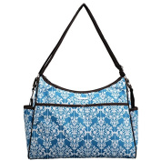 Bellotte Textured Nappy Bag, Blue