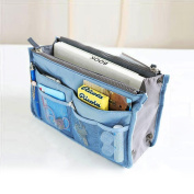 MAIYU Purse Perfector Insert Organiser Nappy Bag Expandable 13 Pockets Organiser with Handles