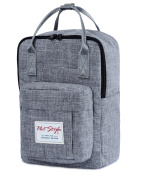 [HotStyle Basic Classic] Bestie Cute Nappy Bag Backpack for Mom (14 Litres), DarkGrey