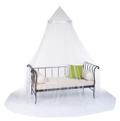 Bed canopy - 60 x 250cm - Colour IVORY WHITE