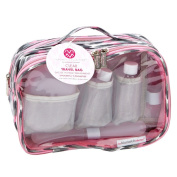 The Macbeth Collection Pink Joni Toiletry Travel Bag