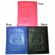 Kozmic Leather Self Embossed Passport Cover