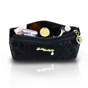 Jacki Design Royal Blossom Compact Cosmetic Bag