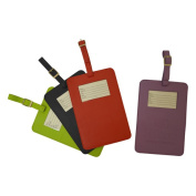 Dacasso Colours Travellers Envy Luggage Tag - Midnight Black