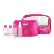Jacki Design Royal Blossom 6-piece Travel Toiletry Set