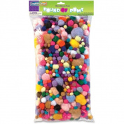 ChenilleKraft Pound of Poms Assortment Pack
