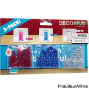 Deco Mud Water Beads for Decoration or Plants 3-colour Pack