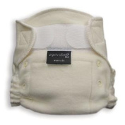 1200 Organic Aplix Fitted Nappy- Pack of 2