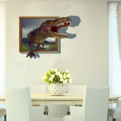 Daily-3D Window View Removable Wall Sticker