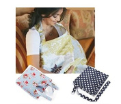 Breastfeeding Nursing Apron Cover Up Poncho Udder Blanket