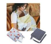Breastfeeding Nursing Apron Cover Up Poncho Udder Blanket