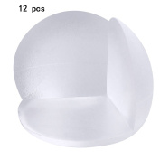 12 PCS Clear Spherical Shape Furniture Corner Safety Bumper Corner Protector Guard Cushion Home Table Desk Edge Corner Protector