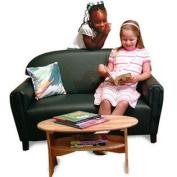 .  Home Vinyl Upholstery Sofa - Size