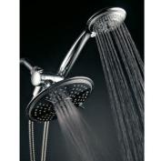 Ultra-Luxury 24 Setting 3-Way Rainfall/Handheld Shower Head Combo
