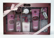 Bath Solution 101480 Morocan Rose with Argan Oil & #44; 7 Piece Set & #44; Pack of 4