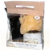 Maxs wholesale 14547 Travel Pack Argan Oil Premium Bath Spa Gift Set
