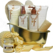 Vanilla Indulgence Spa Bath and Body Gift Basket Set
