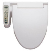 HomeTech Feel Fresh HI-3001 White Bidet Washing Toilet Seat ELONGATED