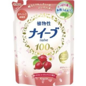 Naive Rosehip Body Wash by Kracie - 420ml Refill