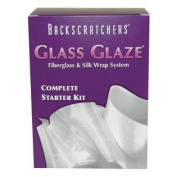 Backscratchers Extreme Glass Glaze Fibreglass and Silk Wrap System Complete Starter Kit