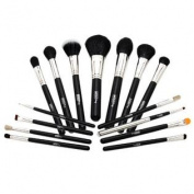 Mojo Beauty Premier 15-Piece Professional Make-up Brush Kit