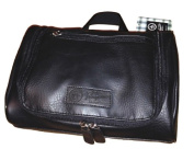 NWT $50 PENGUIN Munsingwear Men's Hanging Toiletry Travel Shave Kit Case Bag Black