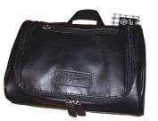 NWT $50 PENGUIN Munsingwear Men's Hanging Toiletry Travel Shave Kit Case Bag Black