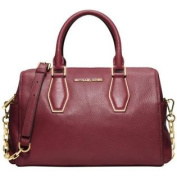 Michael Kors Vanessa Medium Chain Satchel Claret
