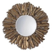 Uttermost 12742 B Mirrors Home Decor Lighting ;Antique Gold Leaf