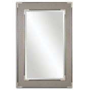 Alfred Oversized Grey/Tan Mirror