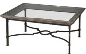 Uttermost Huxley Antique Crackled Fir Wood Coffee Table