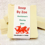 Gentleman's Tea Tree Shaving Balm Traditional & Handmade Cold Process Soap With Coconut Oil & Shea Butter