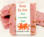 Pink Lavender Traditional & Handmade Cold Process Natural Soap With Coconut Oil & Shea Butter