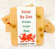 Orange Crush Traditional & Handmade Cold Process Natural Soap With Coconut Oil & Shea Butter