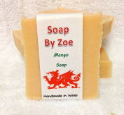 Mango Traditional & Handmade Cold Process Natural Soap With Coconut Oil & Shea Butter