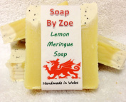 Lemon Meringue Traditional & Handmade Cold Process Natural Soap With Coconut Oil & Shea Butter
