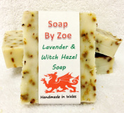 Lavender & Witch Hazel Traditional & Handmade Cold Process Soap With Coconut Oil & Shea Butter